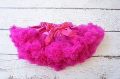 Tutu- pettiskirt-  Girls FIrst birthday Outfit -Purple Pettiskirt - Newborn Photo Prop - Girls pettiskirt- Fuschia tutu