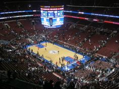 Wachovia Center (Philadelphia, Pennsylvania). As the replacement for the Spectrum, have attended Sixers, Flyers, NCAA Tournament games, and the Vet Stadium auction as well as the Wing Bowl.