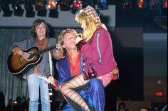 Cyndi Lauper and Rod Stewart 1985
