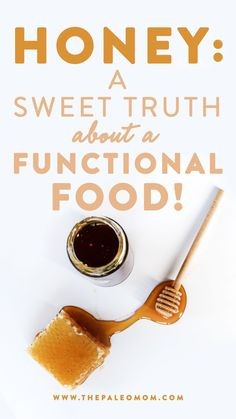 It can be tempting to look at honey's high sugar content and assume it's just another concentrated sweetener we should attempt to limit. Fortunately, that couldn't be further from the truth! #honey #naturalsweetener #functionalfood Paleo Mom, Paleo Diet, Sugar Free Diet, High Sugar, Lower Blood Sugar, Natural Honey, Gut Health, Stevia