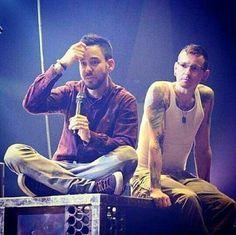 Mike Shinoda and Chester Bennington - Linkin Park