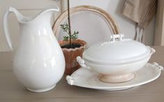 Frog Goes to Market: A Few New Ironstone Pieces