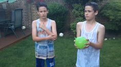 Water balloon quiz 4 600k on musical.ly❤️