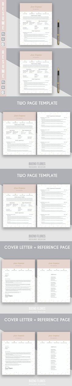 Nurse Resume Template - 3 Page by @Graphicsauthor Resume CV - the ladders resume