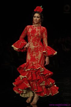 Flamenco Fashion by  Carmen Rodríguez, 2012