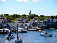 The island of Nantucket. I have been working on a needlepoint of this scene since 1980.