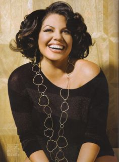 """""""I'm glad to be a role model, but beyond that I'm a flawed human being, someone who continues to deal with my body image and what my purpose is on the planet."""" - Sara Ramirez <3 =)"""