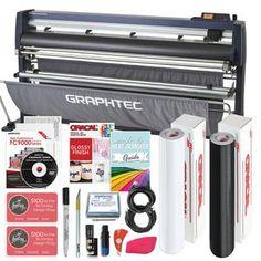 Graphtec Vinyl Cutter w/ Bundle, BONUS Software & 3 Year Warranty - Swing Design Auto Alignment, Heat Transfer Vinyl, Transfer Tape, Swing Design, Siser Easyweed, Studio Software, Vinyl Cutter, Adhesive Vinyl, Wolves