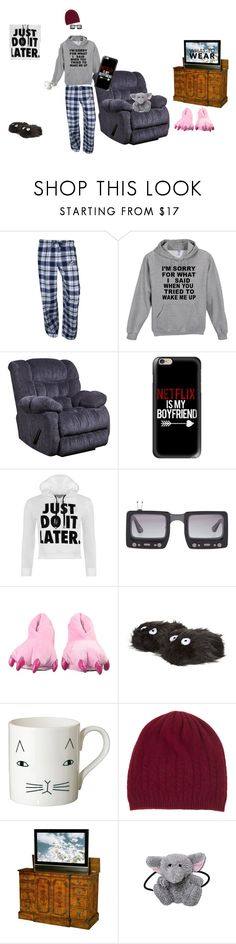 """:)"" by tadele ❤ liked on Polyvore featuring Concepts Sport, Flash Furniture, Casetify, WearAll, Jeremy Scott, Donna Wilson, Johnstons of Elgin and WhatToWear"