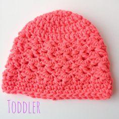 Textured Toddler Beanie - The Yarn Box The Yarn Box