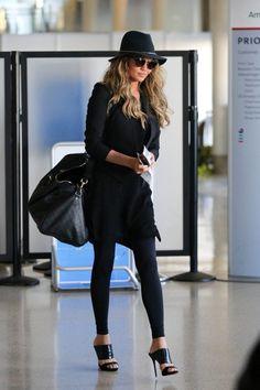 Chrissy Teigen Arrives at LAX - Pictures - Zimbio