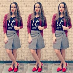 Tem look para curtir esse tempo fresquinho lá no blog com mocassim lindo da @disantinni !!! #correspondenteds #fashionblogger #blogger #itgirl #blogueirascariocas #achadosriachuelo #disantinni #pieddepoule #lookdodia #dujour #tendência #ootd