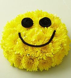 yellow iconic smiley face - 70's