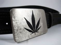 Hey, I found this really awesome Etsy listing at http://www.etsy.com/listing/116008024/cannabis-belt-buckle-stainless-steel