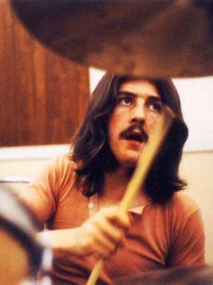 John Bonham of Led Zeppelin  The greatest drummer ever! May 31, 1948 - September 25, 1980