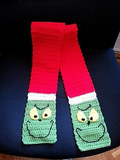 The The The The Grinch Basic Double Crochet Hat