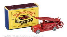 Matchbox Regular Wheels No.9A Dennis Fire Engine | Vectis Toy Auctions