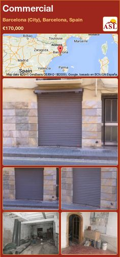 Commercial for Sale in Barcelona (City), Barcelona, Spain - A Spanish Life Shopping In Barcelona, Barcelona City, Barcelona Spain, Andorra, Bilbao, Toulouse, Valencia, Best Location, Beams