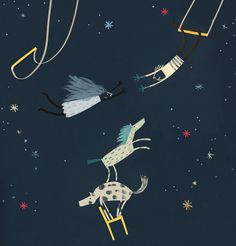 Trapeze by Yasmeen Ismail, via Behance