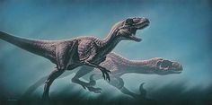 Utahraptor, Early Cretaceous (126 Ma), Discovered by Kirkland, Gaston & Burge - 1993