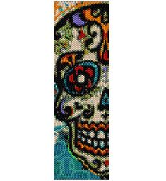 Hey, I found this really awesome Etsy listing at https://www.etsy.com/listing/231195626/peyote-bracelet-pattern-el-dia-del-los