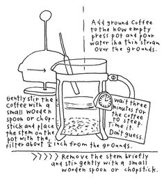 Bodum French Press Coffee Maker Instructions : 1000+ images about design Instructions + Directions on Pinterest Infographics, French press ...