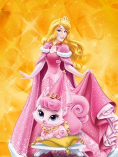 Disney Princess Palace Pets - Aurora and Beauty All Disney Princesses, Disney Princess Drawings, Disney Princess Art, Disney Princess Pictures, Disney Drawings, Disney Art, Disney Wiki, Aurora Disney, Princesa Disney Aurora