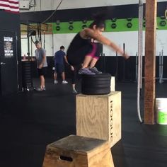 """""""Getting air. #CrossFit #crossfitgirls #sancarlos #boxjumps #train #exercise #HGXFIT #HomeGrownCrossFit #speed #power #agility #fitness #fit #wod #workout @munkicahi"""" Photo taken by @hgxfit on Instagram, pinned via the InstaPin iOS App! http://www.instapinapp.com (08/08/2015)"""
