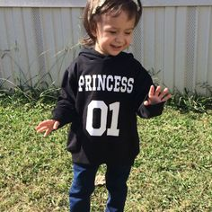 thank you for sharing your princess in her custom made princess hoodie #princesshoodie
