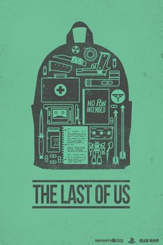"""@Ollie Hoff on Twitter. """"New design finished! Easily best game of last year. The Last of us :) @Naughty_Dog @Neil_Druckmann #TheLastOfUs pi..."""""""