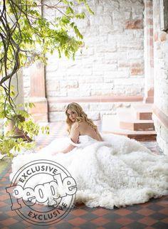 See Pretty Little Liars Star Sasha Pieterse's Christian Siriano Wedding Gown