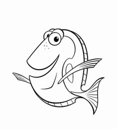 Finding Nemo coloring pages. Disney coloring pages. Coloring pages for kids. Thousands of free printable coloring pages for kids! Tinkerbell Coloring Pages, Finding Nemo Coloring Pages, Fish Coloring Page, Cool Coloring Pages, Cartoon Coloring Pages, Disney Coloring Pages, Free Printable Coloring Pages, Coloring Pages For Kids, Coloring Sheets