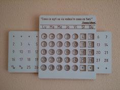 Вечный календарь (white version)+ Вечный календарь, длиннопост, дерево, календарь, своими руками