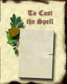 Free Printable Book of Shadows Blank Pages