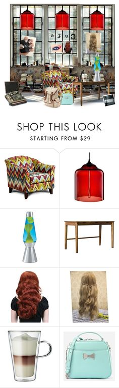 """Die Nacht im Sommerregen"" by lablanchenoire ❤ liked on Polyvore featuring interior, interiors, interior design, home, home decor, interior decorating, Niche Modern, Lava Lite, Aaron Poritz and COVERGIRL"