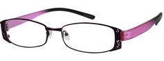 Women's Purple 7133 Stainless Steel Full-Rim Frame with Memory Plastic Temples | Zenni Optical Glasses-Xd2BVvqH