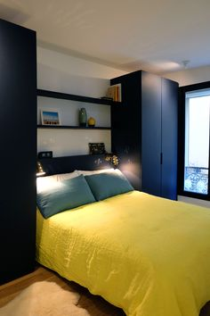 bed surround with wardrobe for the home pinterest. Black Bedroom Furniture Sets. Home Design Ideas
