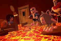 The Floor Is Lava is the latest meme to spawn new video games