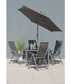 buy malibu 4 seater patio furniture set at argoscouk your online