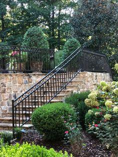 Garden Bridge, Stairs, Exterior, Outdoor Structures, Decor, Stairway, Decoration, Staircases, Outdoor Rooms