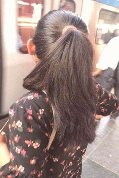 Indian Hair Oil, Indian Hair Color, Indian Hair Weave, Long Indian Hair, Long Ponytail Hairstyles, Long Hair Ponytail, Braids For Long Hair, Indian Hairstyles, Curls Hair