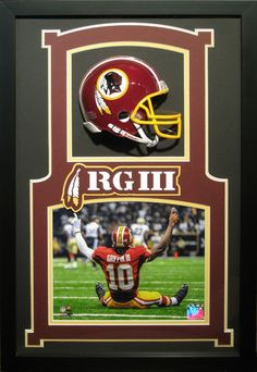 Welcome to your premier source for custom frame design and printing. Expertise and professionalism are evident in all that we do at The Art of Custom Framing. Sports Frames, Framed Jersey, Washington Redskins, Shadow Box, Custom Framing, Boxes, Display, Helmet, Prints
