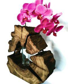 Wooden vase 🌸🌸🌸  ©rebornwsk