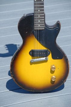 1956 Vintage Gibson Les Paul Junior Sunburst