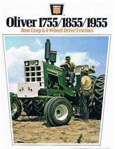 OLIVER 1755, 1855 & 1955 Ad
