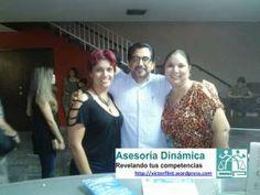 Anabel Espinoza, Silvia Ruiz y su servidor al finalizar recital de Son Barroco.