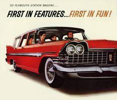 Plan59 :: Woodies :: 1950s Station Wagons :: 1959 Plymouth Suburban