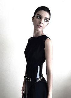Ammunition Couture | Black Belt | Brass | Luxury Fashion