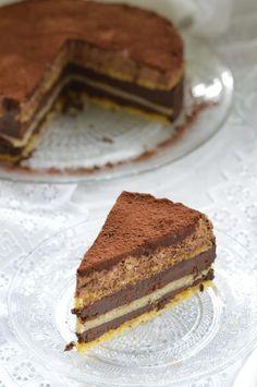 E-80torta cukor- és gluténmentesen - Kifőztük Gluten Free Recipes, New Recipes, Cake Recipes, Healthy Cake, Healthy Sweets, Healthy Food, Sin Gluten, Breakfast Recipes, Cake Decorating