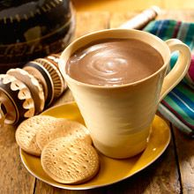 In Mexico, the Christmas season becomes extra special by sipping on sweet and chocolaty of Champurrado, or Thick Mexican Hot Chocolate. This festive drink is made by dissolving Mexican chocolate, sugar cane and cinnamon in a thick and smooth mixture of corn flour, milk and water. The best part? This authentic Mexican recipe takes only 5 ingredients and 30 minutes to prepare, so you can warm up to a steaming mug of Champurrado, tonight!